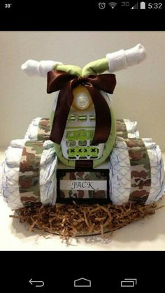 Luv My Camo Baby 4 Wheeler Diaper Cake . Luv My Baby 4 Wheeler Camo Diaper Cake by BebeBlissbabygiftsLuv My Pink Camo Baby 4 Wheeler Diaper Cake in 2019 . Baby Shower Camo, Baby Shower Diapers, Baby Shower Gifts, Baby Shower Gender Reveal, Baby Shower Themes, Shower Ideas, Camo Diaper Cake, Diaper Cakes, Luvs Diapers