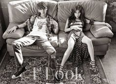 Tiffany and Lee Chul Woo for 1st Look Magazine June 2015 Issue