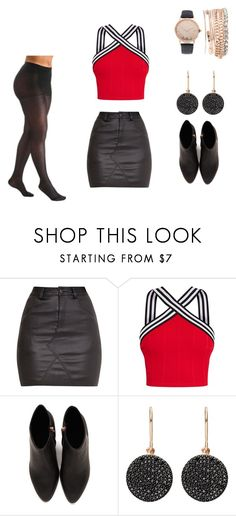 """""""Look sexy"""" by camilalopes-i on Polyvore featuring moda, Alexander Wang, Sigvaris, Astley Clarke e Jessica Carlyle"""