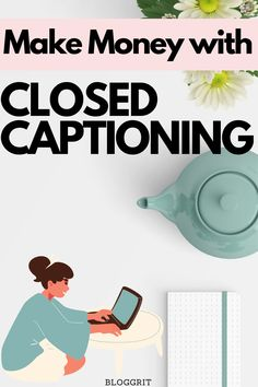 Make Money From Home with Closed Captioning. Learn How to Make Money From Home captioning for TV programmes or cinema! This is a nice and Easy Ways to Make Money From Home. Make money from home legit. If you are looking for exciting Ideas to make money from home, closed captioning is in demand. Ways to make money from home. Online earning make money from home. #makemoneyfromhome #closedcaptioning #workfromhome #legitimatejobs Make Side Money, Make Money From Home, How To Make Money, Online Jobs For Moms, Legit Online Jobs, Stress Free Jobs, Captioning Jobs, Extra Money Jobs, Jobs For Housewives