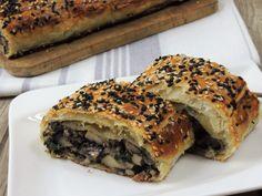Portobello, Spanakopita, Sandwiches, Bread, Cooking, Ethnic Recipes, Baking Center, Koken, Breads