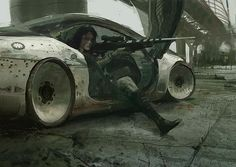 probably craig mullins | Painting_Conceptart_Illustration | Pinterest
