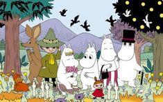 Bilderesultat for moomin christmas Tove Jansson, Cartoon Hippo, Moomin Valley, Family Drawing, Old Shows, Anime Japan, Funny Illustration, Old Cartoons, Christmas Books