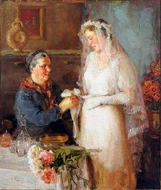 Павел Петрович Трубецкой (1866-1938) Название «День свадьбы» (1922)