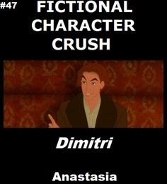 character crush: Dimitri...is there a non fiction form?