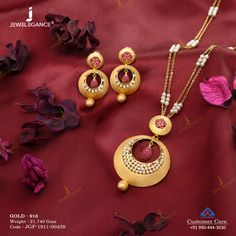 Pearl Jewellery Pendant Set gms) - Fancy Jewellery for Women by Jewelegance Indian Gold Necklace Designs, Antique Jewellery Designs, Gold Ring Designs, Gold Bangles Design, Fancy Jewellery, Gold Earrings Designs, Gold Jewellery Design, Buy Jewellery Online, Gold Wedding Jewelry