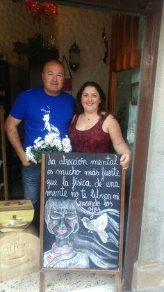 Con Carmen Delia y Cristo