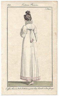 1813 Costume Parisien Plate No 1349