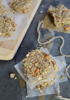 Gluten Free Apple Cinnamon Granola Bars