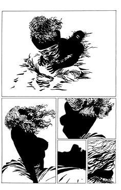 Frank Miller: Sin City part Comic Book Pages, Comic Books Art, Comic Art, Sin City Comic, Frank Miller Sin City, Georges Wolinski, Anthology Film, Jordi Bernet, Alex Toth