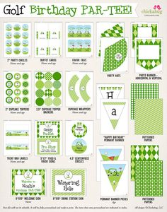 45 best Golf Birthday Party images on Pinterest | Golf centerpieces Printable Golf Party Ideas on golf party desserts, golf party accessories, golf party gifts, luau printables, golf party cards, golf themed party centerpieces, golf party slogans, golf theme party supplies, golf wrapping paper printable, county fair printables, golf bridal shower,