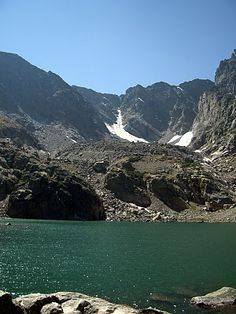 Sky Pond - Rocky Mountain National Park - Hope to be hiking to here this summer.