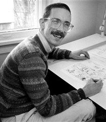 """Bill Watterson - creator of Calvin & Hobbes """"Sometimes I think the surest sign that intelligent life exists elsewhere in the universe is that none of it has tried to contact us."""""""