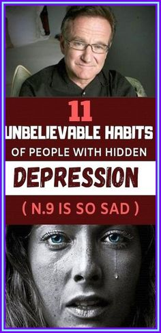 11 Unbelievable Habits of People with Hidden Depression (No.9 Is so Sad) Health And Beauty, Health And Wellness, Mental Health, Wellness Tips, Health Facts, Get Rid Of Warts, Health Planner, Beautiful Love Quotes, Losing Weight