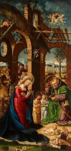 Condividi questa Opera d'Arte, aiutaci a diffondere la cultura del bello. Grazie!   Gandolfino da Roreto (documentato tra il 1493 e il 1518)