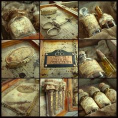 speak without my voice: Time Traveller's Apothecary Kit....