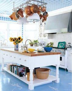 Cozinhas com ilha de preparo