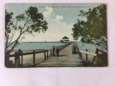 Early 1900s Belleview Biltmore Hotel Bathing Pavillion Belleair FL postcard