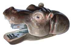 Stapler hippopotamus ARTKLM2 : Nach Bijoux    $83.13
