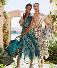 American Vogue PHOTOGRAPHER: CASS BIRD MODELS: CAMERON RUSSELL & JOAN SMALLS STYLING: TABITHA SIMMONS HAIR: RECINE MAKE UP: LYNSEY ALEXANDER NAILS: EMI KUDO