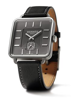 carré H watch from Hermes