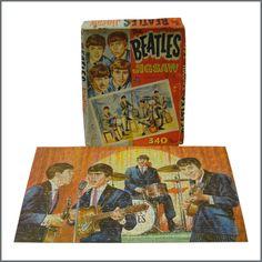 B23520 - The Beatles 1960s Official NEMS Jigsaw (UK) - Tracks Ltd