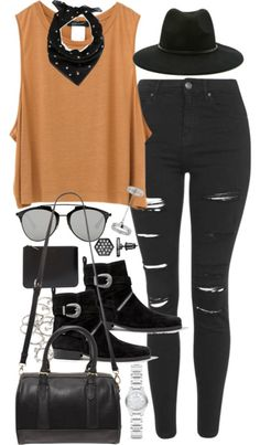 e20d370bde2  fashion  style  outfit  ootd Concert Outfit Rock