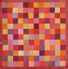 Tony's Handwerkblog:Geborduurd over 1 draadje. 100 kruisjes op 1 cmvierkant.