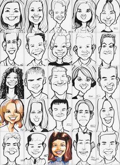 Take the time to learn how to draw caricatures