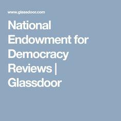 National Endowment for Democracy Reviews | Glassdoor