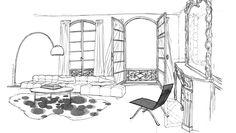 HERMES - Studio La Serre / Illustration