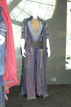 SDCC 2016 The Ancient One Costume Doctor Strange Costumes On Display At Marvels Comic Con Stage