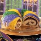 King Cake with Cream Cheese Filling Recipe | Taste of Home Recipes
