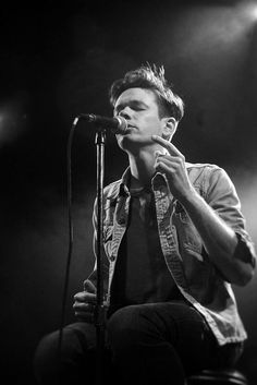 Nate Ruess of fun. this man is the best performer I have ever seen.