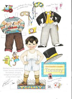 Mary Engelbreit Paper Dolls // Tommy