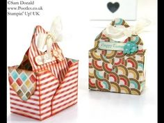 Bag in a Box Envelope Punch Board Tutorial by Stampin' Up! UK Independen...