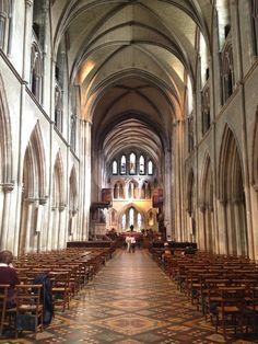 Saint Patrick's Church-The most beautiful church! They had a boys choir singing.
