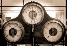 Clocks | Terry McNamara -   Clocks and gauges at the Museum of Science and Industry in Manchester