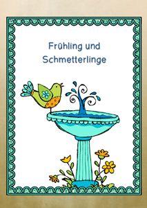 Frühling und Schmetterlinge