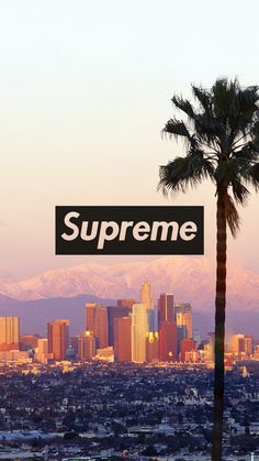 Supreme Los Angeles - Tap to see more of the Supreme wallpapers! - @mobile9