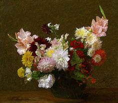 Victoria Dubourg Fantin-Latour Flowers 19th century