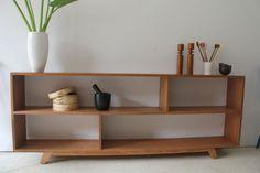 Mid Century Modern Bookcase/Sideboard/TV Stand - Danish/Atomic | eBay