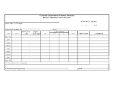 Printable Time Card Template 6 Free Timesheet Templates For Tracking Employee Hours  Card .