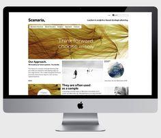 Scenaria - corporate identity & design by moodley brand identity , via Behance Corporate Identity Design, Brand Identity, Branding Design, Web Design, Strategic Planning, Behance, Design Web, Branding, Corporate Design
