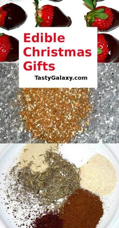 These Unique Edible Gifts are amazingly easy to make and everyone will love to receive them! Find out how to make these best holiday gifts Edible Christmas Gifts, Best Christmas Recipes, Vegan Christmas, Edible Gifts, Best Christmas Gifts, Holiday Gifts, Diy Christmas, Holiday Recipes, Christmas Desserts