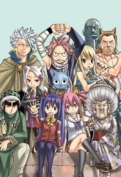 Fairy tail...omg Lyon looks done.