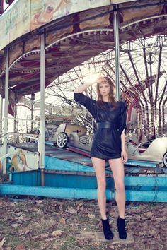 Ghost Funfair. Model Salvador Model Agency Barcelona. Editorial June 2012.