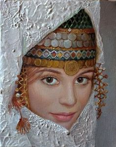 Maria Ilieva 1973 Born in Sofia, Bulgaria 1991 Graduated the National High School o. Art Magique, Mural Painting, Paintings, Various Artists, Female Portrait, Figurative Art, Art Images, Art Drawings, Illustration Art
