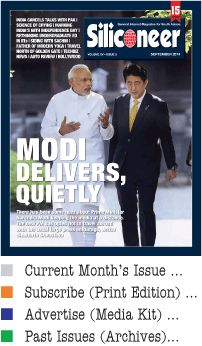 SILICONEER   A Magazine for Indian Americans in U.S.   SEPTEMBER 2014   Volume XV. Issue 9   ISSN 1528-9273