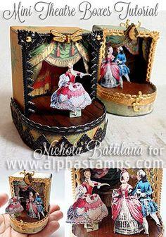 Alpha Stamps News » Dollhouse Miniatures On SALE! (+ Artwork by Nichola Battilana & Teri Calia!)